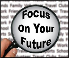 Logo for Focus On Your Future seminar