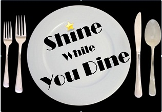 Shine While You Dine Logo